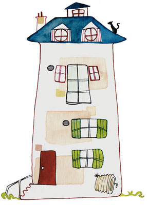 R novation thermique de mon logement besoin d aide for Une maison dessin