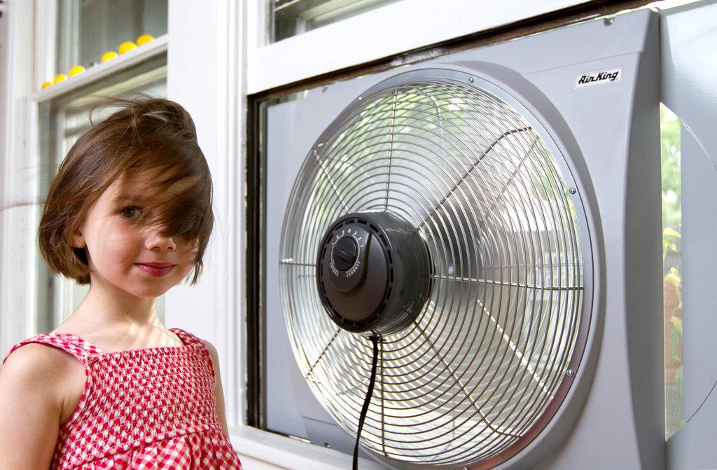la revanche du ventilateur brasseur d'air