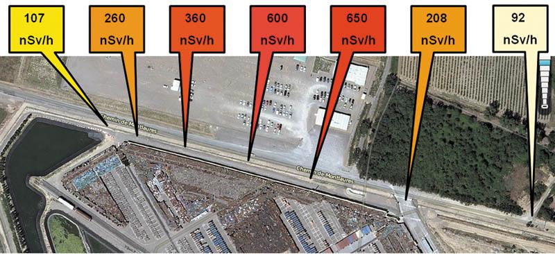 """Résultat de recherche d'images pour """"radioactivité cloture malvesi"""""""
