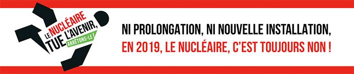 Plusieurs temps forts contre le nucléaire à venir