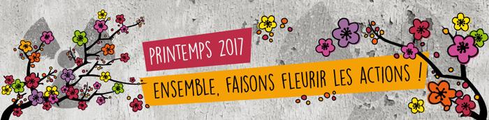 Printemps 2017 : Ensemble faisons fleurir les actions contre le nucléaire !