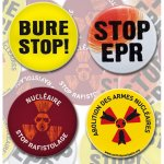 Lot de 4 badges